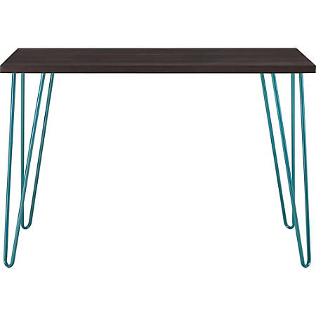 Ameriwood™ Home Owen Retro Desk, Espresso/Teal