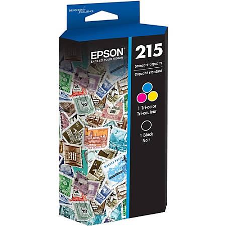 Epson® T215120-BCS Black/Multicolor Ink Cartridges