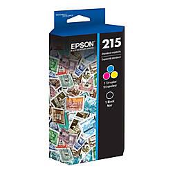 Epson T215120 BCS BlackMulticolor Ink Cartridges