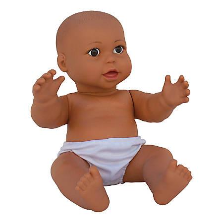 "Get Ready Kids Vinyl Gender-Neutral Baby Doll, Hispanic, 17 1/2"", Pre-K To Grade 2"