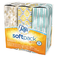 Puffs SoftPack Basic 1 Ply Facial