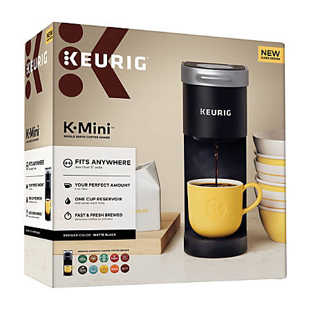 Keurig K Mini Plus Single Serve Coffee Maker Black ...
