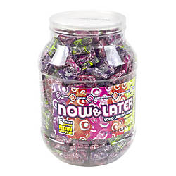 Now Later Candies Assorted Flavors Jar