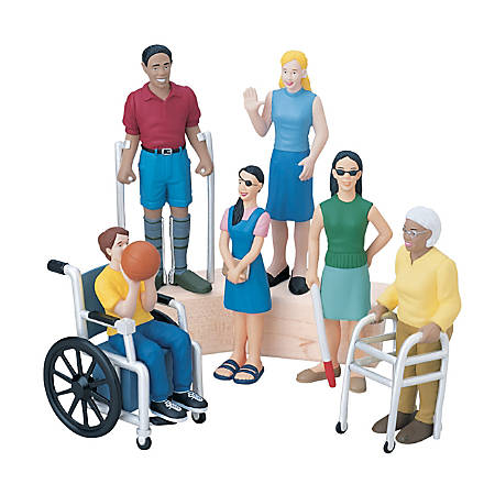 Marvel Education Company Friends With Diverse Abilities Figures, Grades Pre-K - 5, Pack Of 6