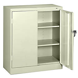 New Large Storage Cabinets with Doors and Shelves