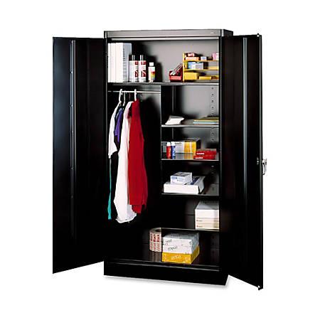 "36/"" X 18/"" X 72/"" Security Lock Tennsco Combination Wardrobe//storage Cabinet"