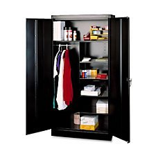 Tennsco Combination WardrobeStorage Cabinet 72 H