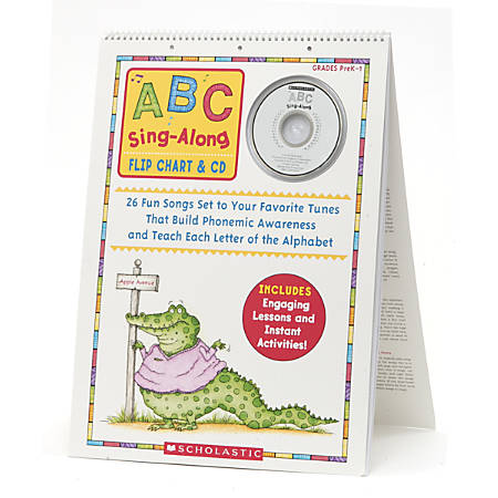 Scholastic ABC Flip Chart/CD