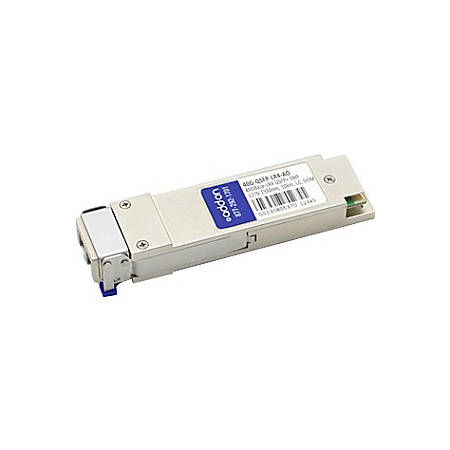 AddOn Brocade 40G-QSFP-LR4 Compatible TAA Compliant 40GBase-LR4 QSFP+ Transceiver (SMF, 1270nm to 1330nm, 10km, LC, DOM)