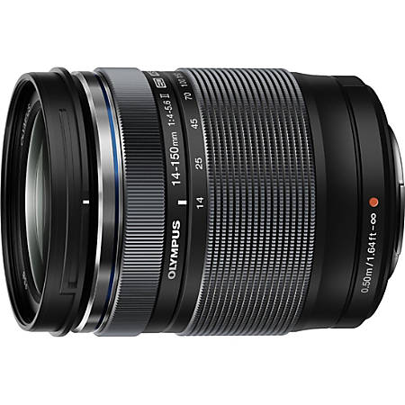 Olympus M.Zuiko - 14 mm to 150 mm - f/4 - 5.6 - Zoom Lens for Micro Four Thirds