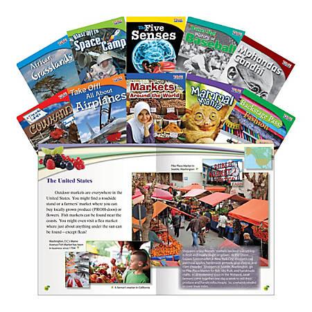 Teacher Created Materials TIME FOR KIDS® Nonfiction Book Set, Set 1, Set Of 10 Books, Grade 3