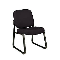 OFM Guest Reception Chair Black