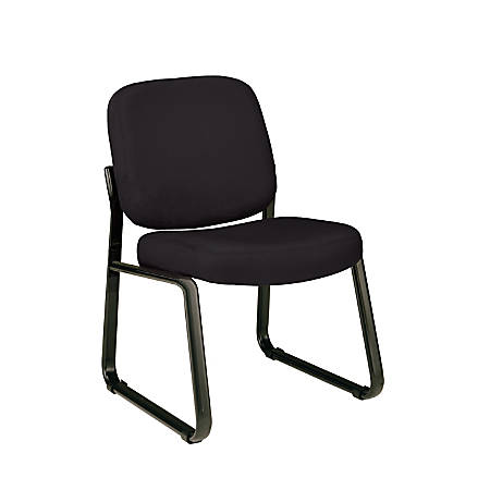 OFM Guest Reception Chair, Black