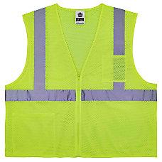Ergodyne GloWear Safety Vest Treated Polyester