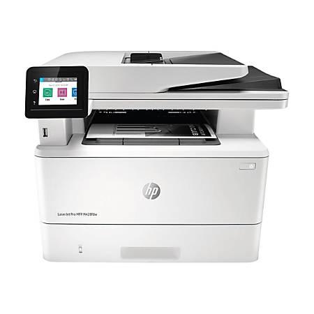 HP LaserJet Pro MFP M428fdw Wireless Monochrome Laser All-In-One Printer, Copier, Scanner, Fax, W1A30A#BGJ