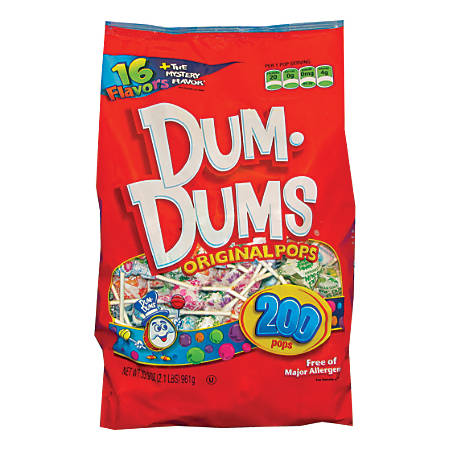 Dum Dum Pops Bag, Pack Of 200