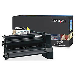 Lexmark C780H2YG High Yield Yellow Toner