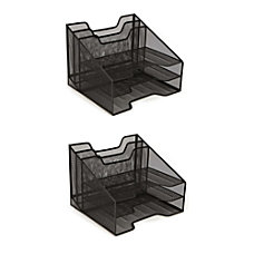 Mind Reader 5 Tray Mesh Desk