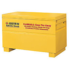 Justrite SafeSite Steel Flammable Safety Chest