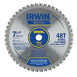 IRWIN Metal Cutting Circular Saw Blade