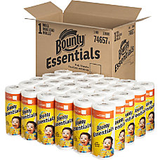 Bounty Essentials Paper Towel Rolls 2