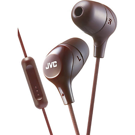 JVC Marshmallow HA-FX38MT Earset - Stereo - Wired - Earbud - Binaural - In-ear - 3.28 ft Cable - Teal