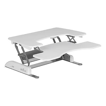 """VARIDESK ProPlus Manual Standing Desk Converter, 36""""W, White"""