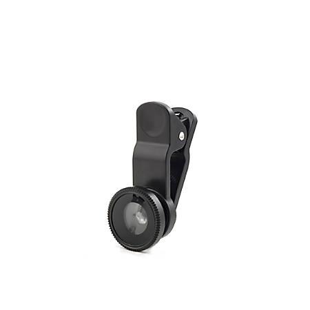 Kikkerland Design Selfie Lenses, Black, US110-A, Set Of 3
