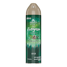Glade Air Freshener Spray Icy Evergreen