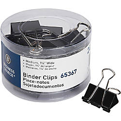 Business Source Medium 24 count Binder