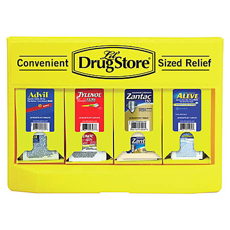 Lil' Drugstore® Single-Dose 4 Medicine Dispenser, 110 Packets