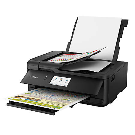 Canon PIXMA™ TS9520 Wireless Color Inkjet All-In-One Printer, Scanner, Copier, 2988C002