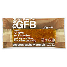 The Gluten Free Bar Coconut Cashew