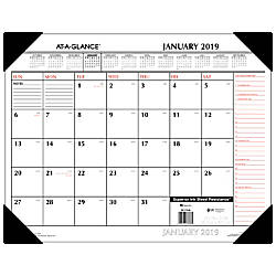 AT A GLANCE Two Color Monthly