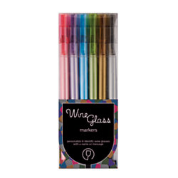 Office Depot Brand Wine Gl Markers Thin Point Orted Ink Colors Pack