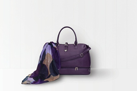 GNBI Polyurethane Weekender Duffel Bag Purple - Office Depot 4a8940b63e703