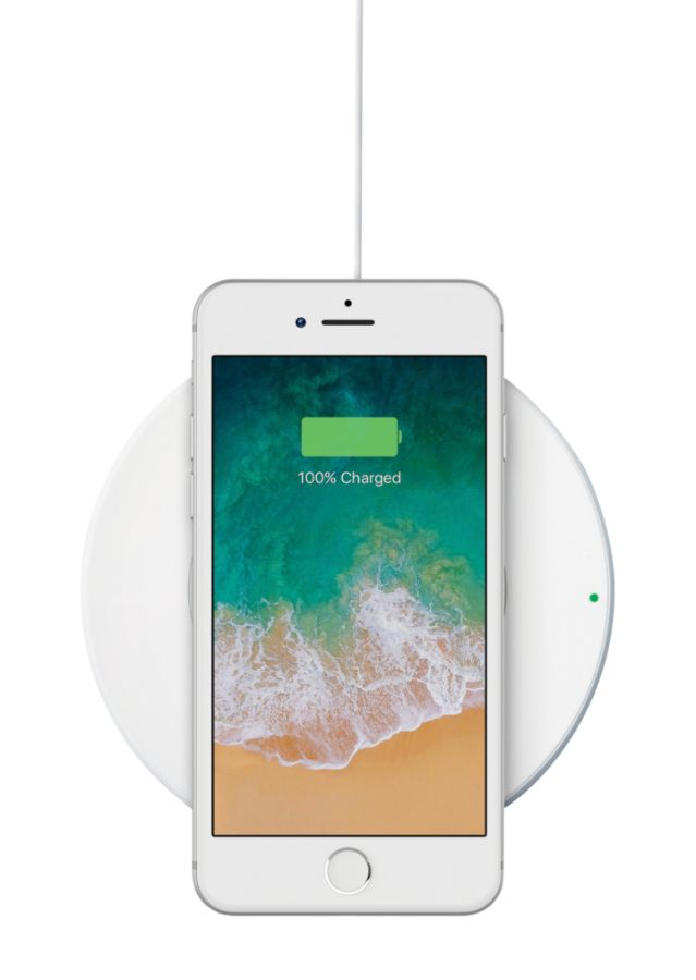 Belkin Boost Up Wireless Charging Pad For Apple Iphone White By