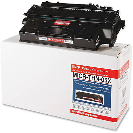 MicroMICR THN-05X (HP CE505X) High-Yield Black MICR Toner Cartridge