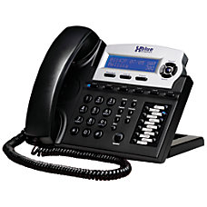 XBLUE Networks X16 Corded Telephone Charcoal