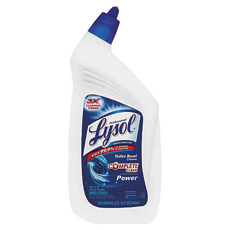 Lysol® Professional Disinfectant Power Toilet Bowl Cleaner, 32 Oz.