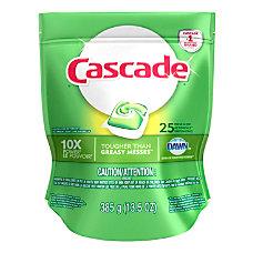 Cascade ActionPacs Dishwasher Detergent Pods Fresh