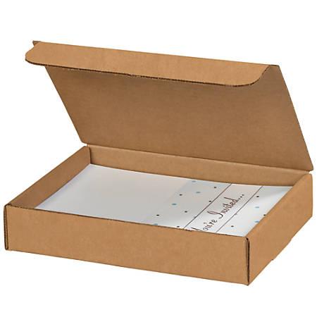 "Office Depot® Brand Literature Mailers, 9"" x 6 1/2"" x 1 3/4"", Kraft, Pack Of 50"
