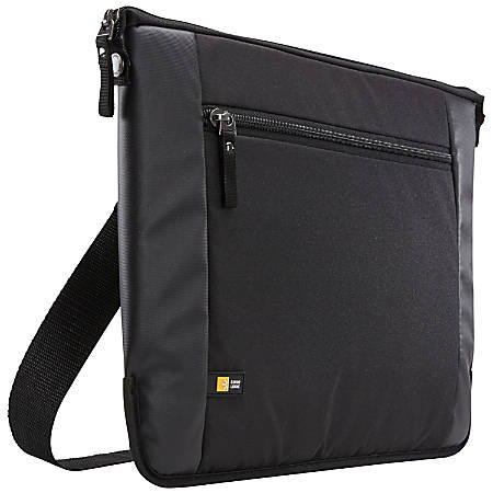 """Case Logic Intrata INT-114 Carrying Case (Attaché) for 14.1"""" Notebook - Black"""