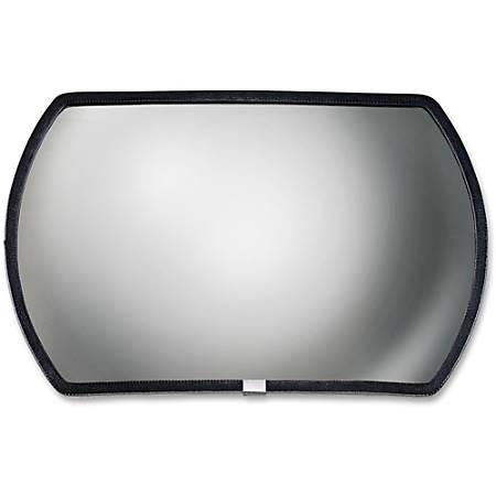 "See-All® Convex Mirror, 12"" x 18"""