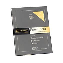 Southworth Parchment Specialty Paper 8 12