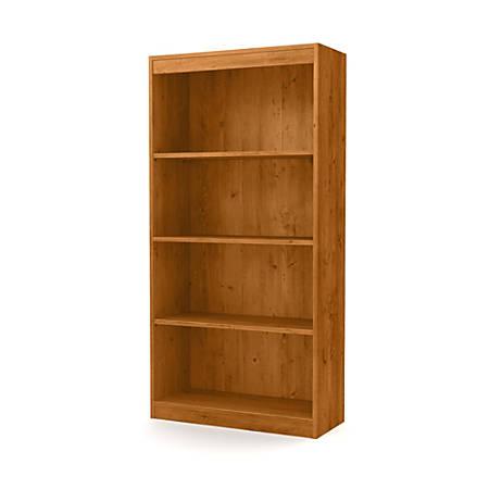 South Shore Axess 4-Shelf Bookcase, Country Pine