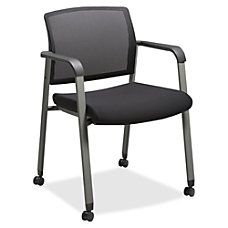Lorell Mesh Back Stackable Guest Chair