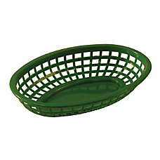 Tablecraft Oval Plastic Serving Baskets 1