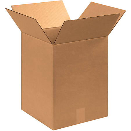 """Office Depot® Brand Corrugated Boxes, 17""""H x 13""""W x 13""""D, 15% Recycled, Kraft, Bundle Of 25"""