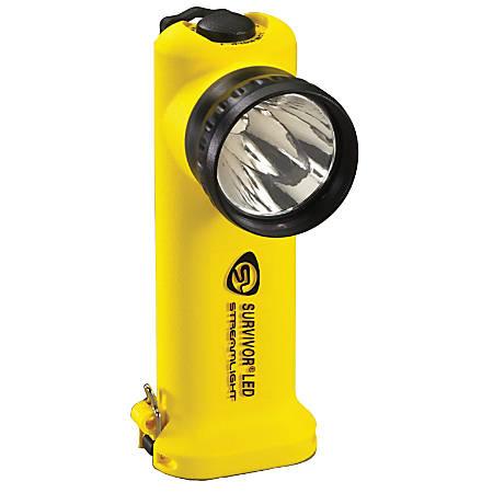 Streamlight® Survivor® 4.8V LED Rechargeable Flashlight, Yellow